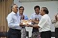 Ganga Singh Rautela Receives Retirement Gift From Anil Shrikrishna Manekar - NCSM - Kolkata 2016-02-29 1683.JPG