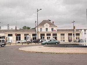 Gare de Bourges - The station building