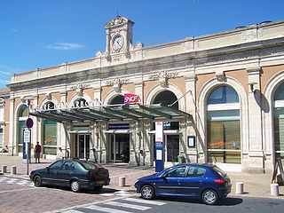 railway station in Narbonne, France