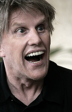 English: Gary Busey in Almaty, Kazakhstan in O...