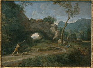 Landscape with a Natural Arch