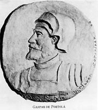 Gaspar de Portolà - Image: Gaspar de Portolá
