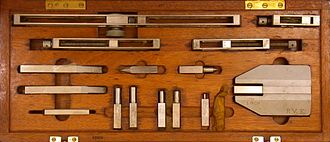 Gauge block - A gauge block accessory set