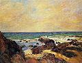 Gauguin 1886 Les Rochers dans la mer.jpg