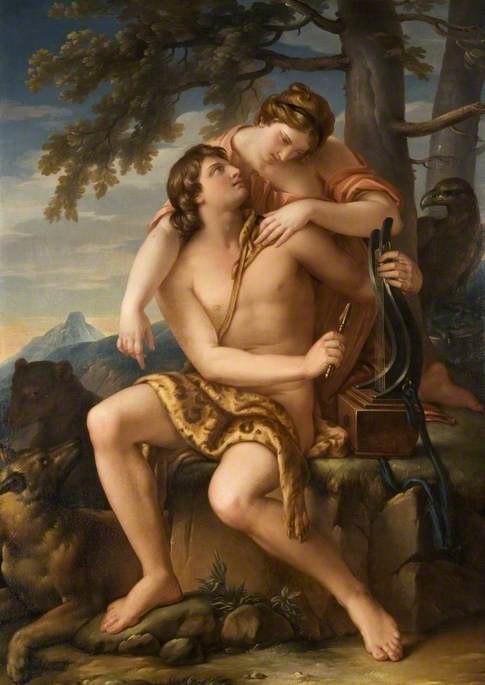 Gavin Hamilton - Apollo and Artemis, 1770