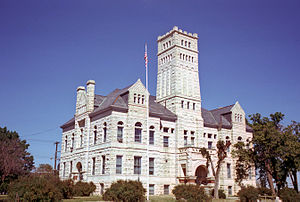 Junction City, Kansas - Geary County Courthouse (1979)