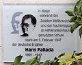 Gedenktafel Blankenburger Str 21 (Nieds) Hans Fallada.jpg