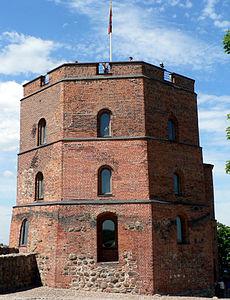 Gediminas Tower in Vilnius (cropped).jpg