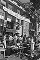 Gekraakte panden aan Amsterdamse Herengracht, overzicht ontruiming en Kraakteja, Bestanddeelnr 928-7437.jpg