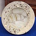 Gela, scodella in protomaiolica di tipo gela, 1233-1275 ca., da mus. reg. ceramica di caltagirone.JPG