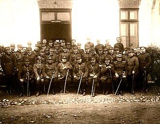 Aristide Razu - Aristide and his Signalling Regiment, 1928