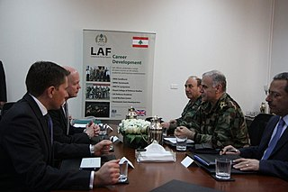 Jean Kahwaji Lebanese Army Commander