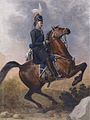 General Matvei Ivanovich Platov on horseback, Russian school.jpg