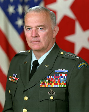 United States Central Command - Image: General Robert Kingston, official military photo, 1984