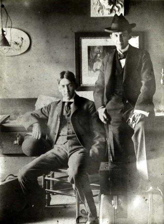 George Ade and John McCutcheon