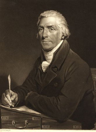 George Burder - George Burder, 1812 mezzotint by Henry Hoppner Meyer, after Henry William Pickersgill.