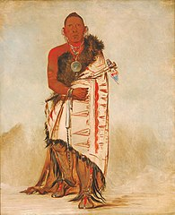Ki-hó-go-waw-shú-shee, Brave Chief, Chief of the Tribe