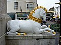 George III's unicorn, Weymouth - geograph.org.uk - 1840943.jpg
