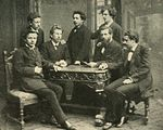 Gerhart Hauptmann with friends.jpg