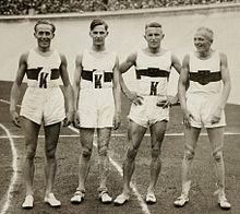 German men 4x400m team 1928 Olympics.jpg