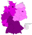 German states by nominal GRP per capita in 2016.png