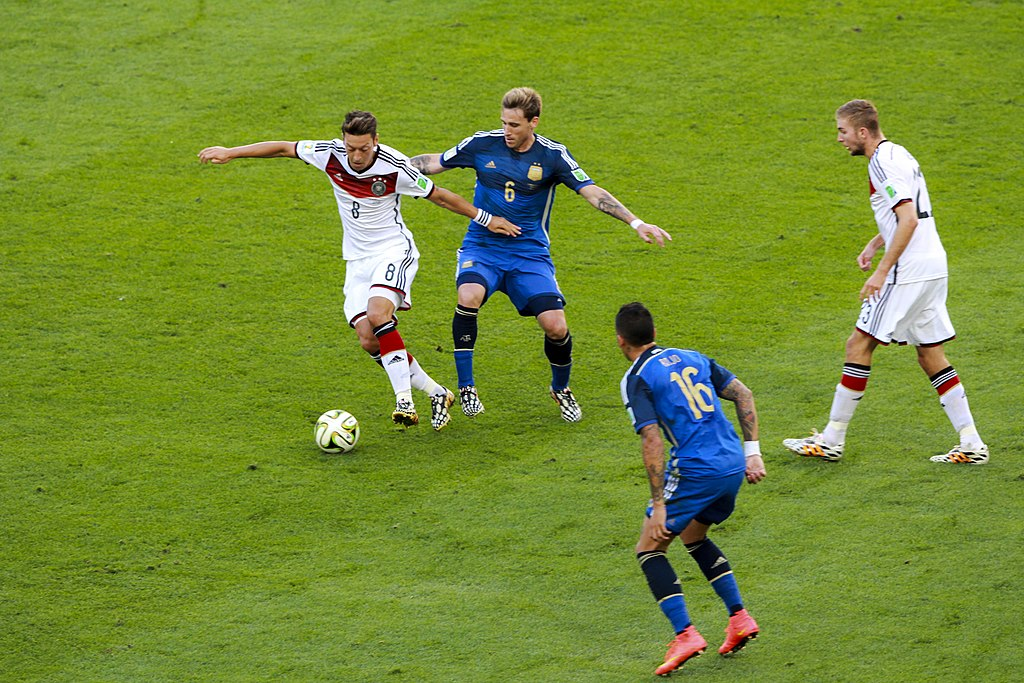 Germany and Argentina face off in the final of the World Cup 2014 -2014-07-13 (22)