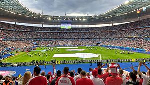 Stade de France - Image: Germany vs Poland 0 0 (27103531294)