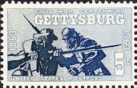 Gettysburg Centennial 1963-5c