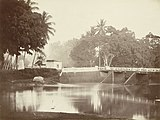 Ciliwung, Batavia, photographed by Meessen