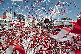 Празднование Национального дня Гибралтара в 2013 году