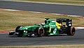 Giedo van der Garde Caterham 2013 Silverstone F1 Test 001.jpg