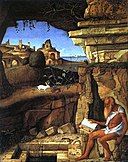 Giovanni Bellini St Jerome Reading in the Countryside.jpg