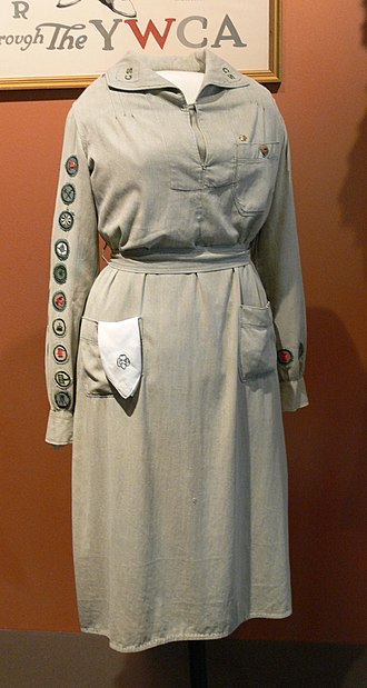 Scouting in Texas - Image: Girl Scout uniform 1927 Womens Museum