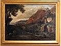 Giuseppe avanzi (attr.), paesaggio con viandanti e cascata.jpg