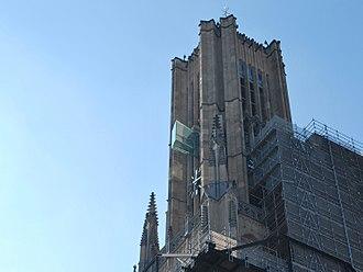 Observation deck - Glass balconies St Eusebius Church, Arnhem, The Netherlands.jpg
