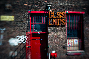 Glasslands Gallery - Glasslands exterior. Photo by Ryan Muir