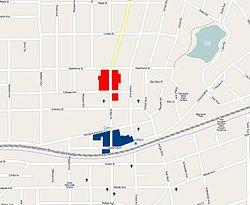 Glen Ellen Illinois Map.Glen Ellyn Main Street Historic District Wikipedia
