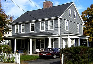 Glover House (Quincy, Massachusetts) - Image: Glover House Quincy MA 01