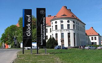 Freiberg University of Mining and Technology - Campus of the TU Bergakademie Freiberg, 2007