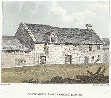 Glyndwr's Parliament House, Machynlleth. 1814