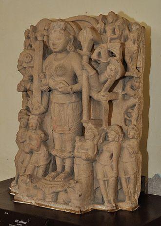 Ambika (Jainism) - Goddess Ambika - Medieval Period (Government Museum, Mathura)