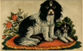Godey's Lady's Book (1861) - TWO DOGS NEEDLEPOINT.png