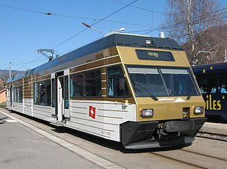 Stadler GTW - First Generation: Goldenpass Be 2/6 7003 Blonay at Blonay (CEV-Bahn)