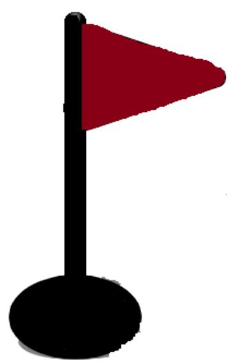 Irish Open (golf) - Image: Golf flag icon