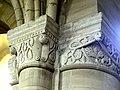 Gournay-en-Bray (76), collégiale St-Hildevert, bas-côté sud, chapiteaux du 5e pilier libre, côté sud-est.jpg