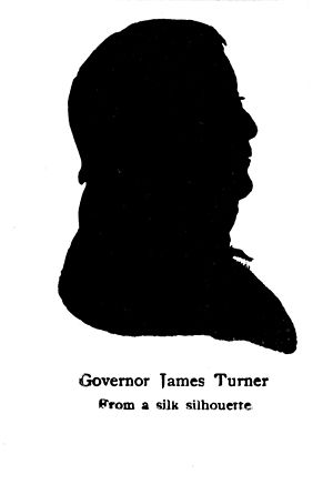 James Turner (North Carolina politician) - Silhouette of Turner