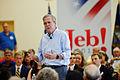 Governor of Florida Jeb Bush at TurboCam, Barrington, NH 1 on August 12th by Michael Vadon.jpg