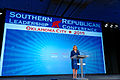 Governor of Oklahoma Mary Fallin at Southern Republican Leadership Conference May 2015, Oklahoma City, Oklahoma by Michael Vadon 01.jpg