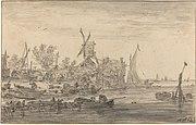 Goyen 1653 nabrzeepoodpywiezwiatrakiem.jpg