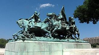 Ulysses S. Grant Memorial - Image: Grant Memorial 14